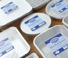 Aluminium Trays, Roasting Trays, Dishes, Flan Dishes, Pie Dishes